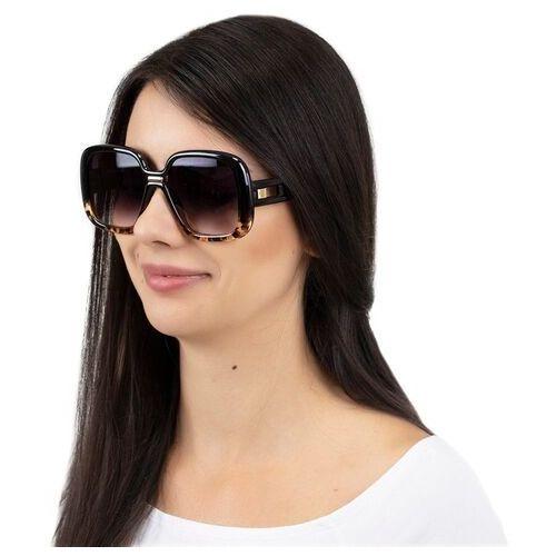 Okulary przeciwsłoneczne, Okulary damskie przeciwsłoneczne duże panterkowe
