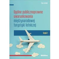 Biblioteka biznesu, Ogólne publicznoprawne uwarunkowania międzynarodowej turystyki lotniczej (opr. miękka)