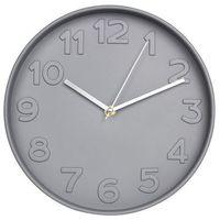 Zegary, Zegar ścienny GRIGIO śr. 25 cm szary