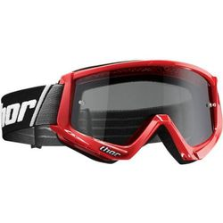 THOR GOGLE COMBAT SAND OFFROAD RED/BLACK =$