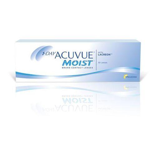 Soczewki kontaktowe, 1 Day Acuvue Moist 30 szt.