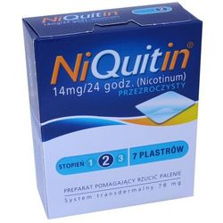 NiQuitin plast. 14mg/24h x 7