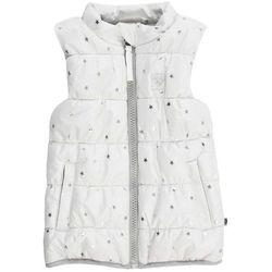 Jacky dziewczęca kamizelka zimowa 68 biała