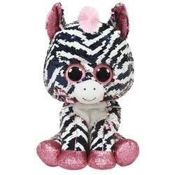 Maskotka Beanie Boos Flippables Cekinowa Zebra Zoe 15 cm