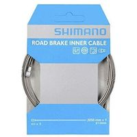 Pozostałe części rowerowe, Shimano Road Linka hamulcowa PFTE powlekany, grey 2020 Linki i osłonki hamulcowe