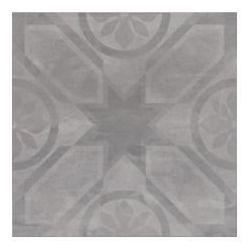 płytka gresowa Silent Stone rozeta (carpet) szary 45 x 45 (gres) OP621-002-1