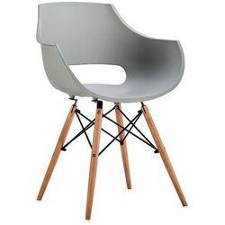 MODESTO fotel FORO szary - podstawa bukowa