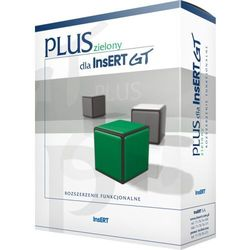 Program INSERT PLUS zielony dla InsERT GT DARMOWY TRANSPORT