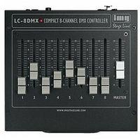 Zestawy i sprzęt DJ, IMG STAGELINE LC-8DMX Kompaktowy kontroler DMX