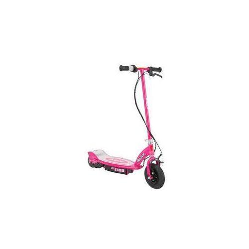 Pozostałe rowery, Skuter elektryczny Razor Razor E100 Różowa