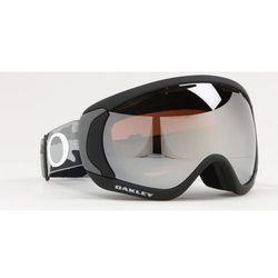 Oakley Canopy Gogle zimowe, black camo/prizm snow black iridium 2019 Gogle narciarskie