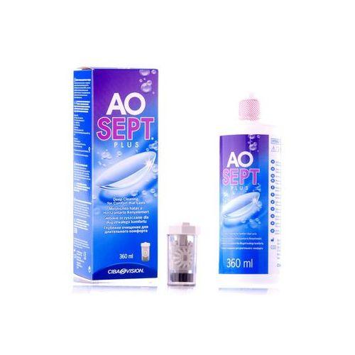 Płyny pielęgnacyjne do soczewek, AOSEPT PLUS 360ml