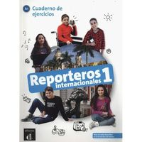 Książki do nauki języka, Reporteros internacionales 1 Cuaderno de ejercicios (opr. miękka)