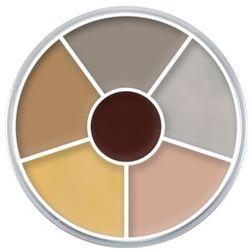 Kryolan CREAM COLOR CIRCLE (CORPSE 2) Kółko 6 kolorów farb Supracolor - CORPSE 2 (1306)