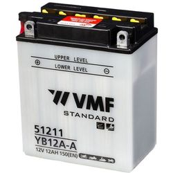 VMF Powersport Akumulator 12 V 24 Ah YB12A-A/12N12A-4A-1 Darmowa wysyłka i zwroty