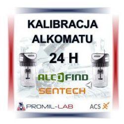 Kalibracja alkomatu Certen Professional z certyfikatem kalibracji