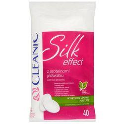 Cleanic Silk Effect Bawełniane płatki kosmetyczne 40 sztuk