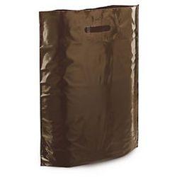 Torba foliowa 200 szt. 350x450x80 brązowa