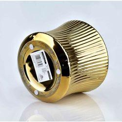 YVONNE GOLD Doniczka 15x15xh12,5cm
