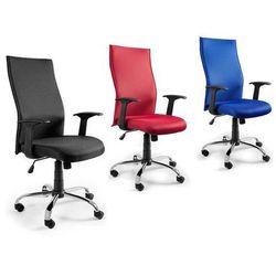 Fotel UNIQUE BLACK ON BLACK w kolorach WYSYŁKA 24h - ZŁAP RABAT: KOD20
