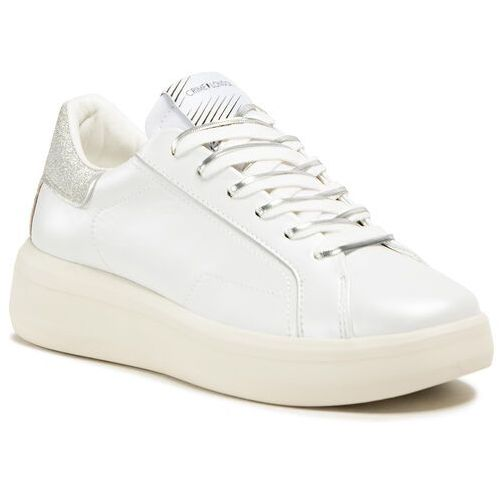 Damskie obuwie sportowe, Sneakersy CRIME LONDON - Low Top Level Up 25306PP3.10 White