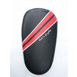 Tarcze treningowe skórzane Masters czarno-czerwone - TPAO-Z S4