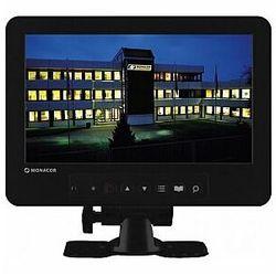 MONACOR TFT-800LED Monitor kolorowy LCD do CCTV z podświetleniem diodowym