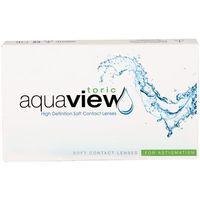 Soczewki kontaktowe, Zestaw startowy AquaView Toric 1 szt.