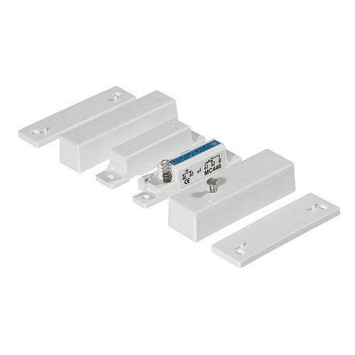 Czujki alarmowe, MC 446 Kontaktron magnetyczny plastikowy Alarmtech
