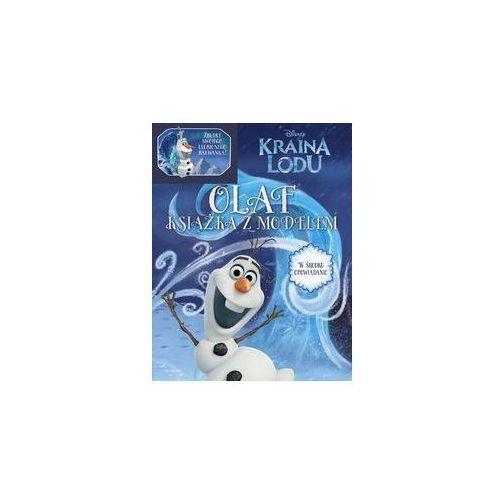 Kreatywne dla dzieci, Kraina Lodu Olaf Książka z modelem