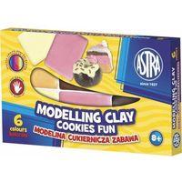 Modelina, Modelina cukiernicza zabawa 6 kolorów ASTRA