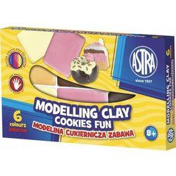Modelina cukiernicza zabawa 6 kolorów ASTRA