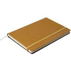 Notatnik Opus Cairo Hard A5 64 kratka twarda oprawa piaskowy