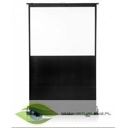 4world Ekran Projekcyjny Podłogowy 167x200cm, proj. 162x122cm, 80 (4:3) Matt White