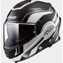 KASK LS2 FF399 VALIANT LUMEN MATT BLACK WHITE