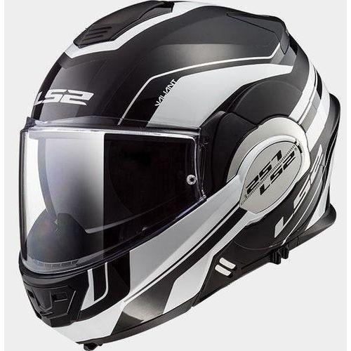 Kaski motocyklowe, KASK LS2 FF399 VALIANT LUMEN MATT BLACK WHITE