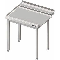 Stół wyładowczy lewy bez półki do zmywarki kapturowej Silanos 800x740x880 mm | STALGAST, 982437080