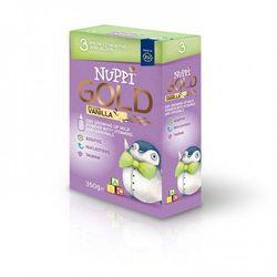 Mleko Nuppi Gold 3 o smaku waniliowym powyżej 12 m-ca życia.