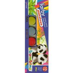 Farby plakatowe 12 kolorów 20ml