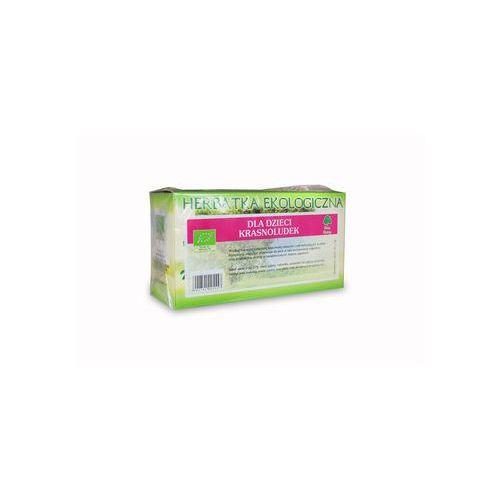 Herbatki dla dzieci, Dla dzieci Krasnoludek 20x2g - ekologiczna herbatka ekspresowa Dary Natury