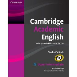 Cambridge Academic English B2 Upper Intermediate, Student's Book (podręcznik) (opr. miękka)