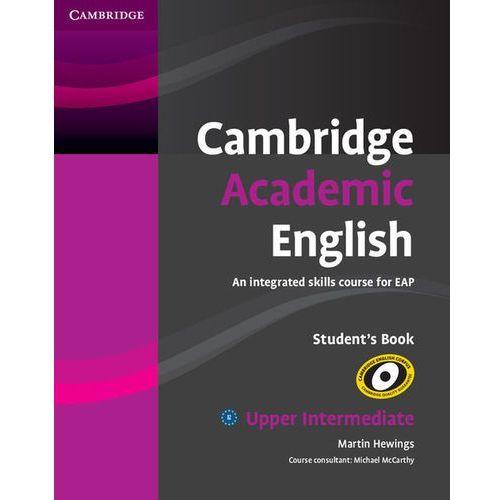 Książki do nauki języka, Cambridge Academic English B2 Upper Intermediate, Student's Book (podręcznik) (opr. miękka)