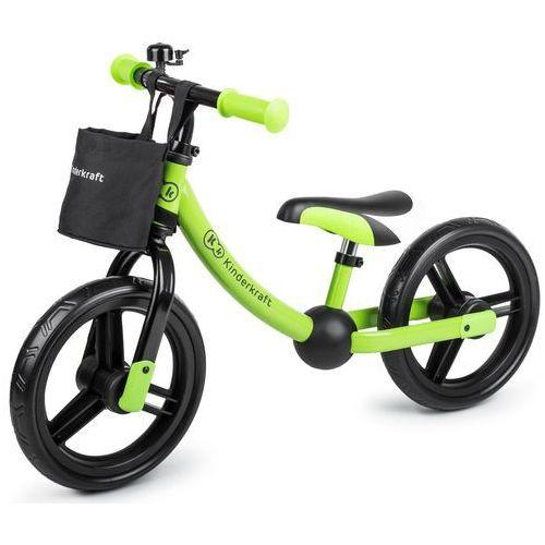 Rowerki biegowe, Rowerek biegowy KINDERKRAFT 2 Way Next Zielony + DARMOWY TRANSPORT!