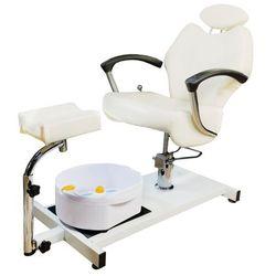 Fotel pedicure masażer stóp Kosmetyczny ODCHYLANY
