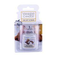 Odświeżacze powietrza do samochodu, Yankee Candle Soft Blanket Car Jar zapach samochodowy 1 szt unisex