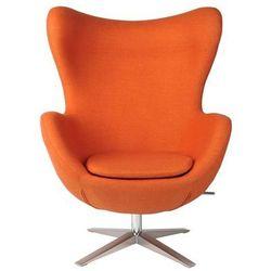 Fotel Jajo Soft wełna pomarańczowy JA-2717