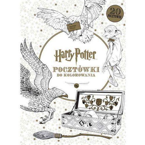 Kolorowanki, Harry Potter Pocztówki do kolorowania - Opracowanie zbiorowe