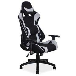 Fotel Signal Viper gamingowy - szary/czarny Zimowa Promocja!