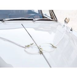 Zestaw rattanowych dekoracji samochodowych - 4 elem.