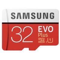 Karty pamięci, Karta pamięci Samsung MICRO SD CARD 32GB EVO + - MB-MC32GA/EU Darmowy odbiór w 21 miastach!